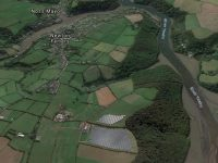Newton Downs from Google Earth 3D