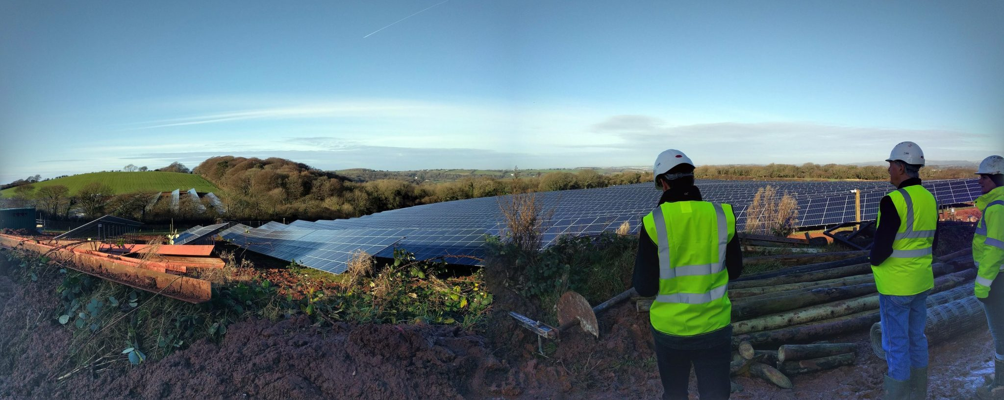 Newton Downs solar farm nearing completion